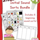 Initial Sound Word Sort - All Four Sets (Spanish)