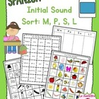 Beginning Sound Recognition: Initial Sound Word Sort - M P