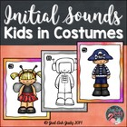 Initial Sounds with Kids in Costumes- Roam the Room