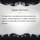 Input vs. Output Devices