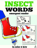 Insect Emergent Reader: Insect Words