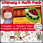 Insect Fun! Lucille the Ladybug Singable (with Common Core