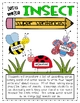 Insect Literature Unit