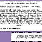 Insect Word Problems (in Spanish) Matching Game