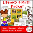 Insects: 1-2, Insects For You! Literacy & Math {CCSS}