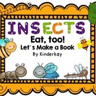Insects Lets Make a Book Emergent Reader