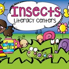 Insects Literacy Centers for Kindergarten