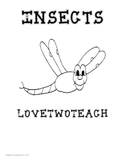 Insects:  Literacy and Math Center Fun