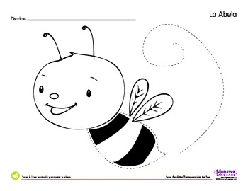 Insects Spanish Lesson (2s) - Los Insectos