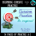 Inspirational Cursive PowerPoint Daily Letter and Practice