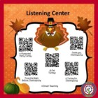 Instant Listening Center - Nov. QR Codes - Listen to Readi