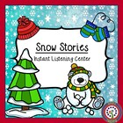 Instant Listening Center - Snow  QR Codes - Daily Five Center