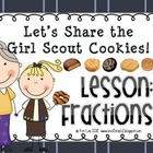 Instant Math: Let&#039;s Share the Girl Scout Cookies (Fractions)