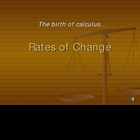 Instant Rate of Change