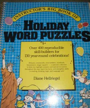 Instructor's Big Book of Holiday Word Puzzles