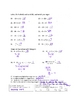 Integer Concepts Test