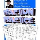 Integer Jim's Fraction Practice