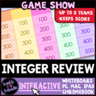Integer Review Game Show