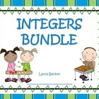 Integers (Adding & Subtracting) ~ Middle School Math Bundle