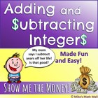 Integers: Adding and Subtracting Integers Made Easy {Common Core}