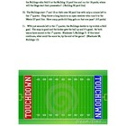 Integers:  Football Math