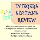Integers Stations Review ~ Cooperative Groups