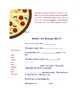 Integrated Pizza Unit: Economics, Science, Lang. Arts & More!