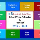 Interactive 2013 - 2014 School-Year Calendar & Lesson Plan