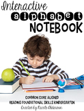 Interactive Alphabet Notebook
