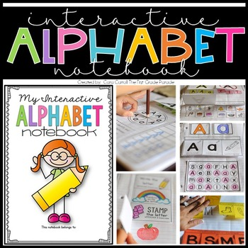 Interactive Alphabet Notebook {Letters A-Z}