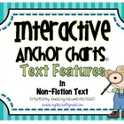 Interactive Anchor Charts - Text Features