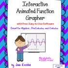 Interactive Animated Function Grapher with FREE Software