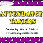 Interactive Attendance Takers to use with SMARTBOARD - Req