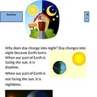 Interactive Book: Day and Night/Seasons