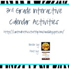 Interactive Calendar Pages