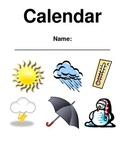 Interactive Calendar and Weather Booklet