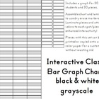 Interactive Classroom Bar Graph Chart - Black & White