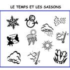 Interactive Dice French Weather Vocabulary Activity with W