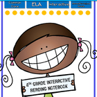 Interactive MINI Reading Journal 4th Grade ELA CC Aligned