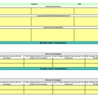 Interactive Fifth Grade Reading Lesson Plan Template-Florida