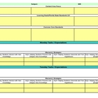 Interactive First Grade Reading Lesson Plan Template-Florida