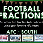 Interactive Fractions with the NFL - AFC SOUTH