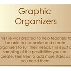 Interactive Graphic Organizer Forms