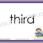 Interactive High Frequency Words 1st Grade/English- Random Order