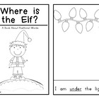 Interactive Holiday Emergent Reader: Where is the Elf?  Po