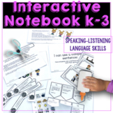 Interactive Language Notebook Special Ed Speech Therapy Au