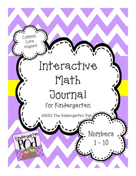 Interactive Math Journal - Numbers 1 - 10