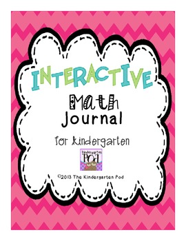 Interactive Math Journal for Kindergarten