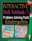Interactive Math Notebook CCSS kindergarten