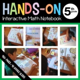 Interactive Math Notebook Hands-On Fifth Grade Common Core